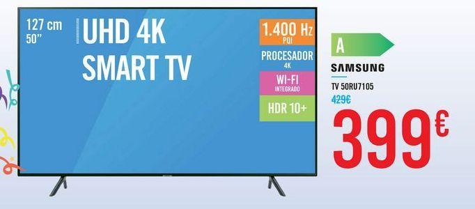 Oferta de TV  50RU7105 SAMSUNG por 399€