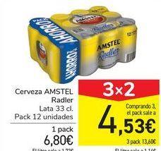 Oferta de Cerveza AMSTEL Radler por 6,8€