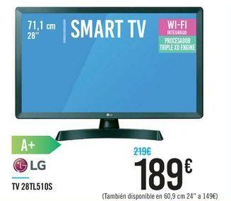 Oferta de TV 28TL51OS LG por 189€