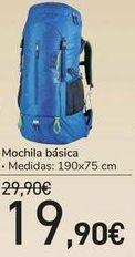 Oferta de Mochila básica  por 19,9€