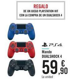 Oferta de Mando DUALSHOCK 4  por 59,9€
