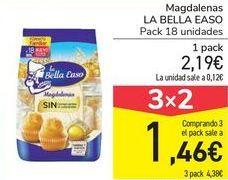Oferta de Magdalenas LA BELLA EASO por 2,19€