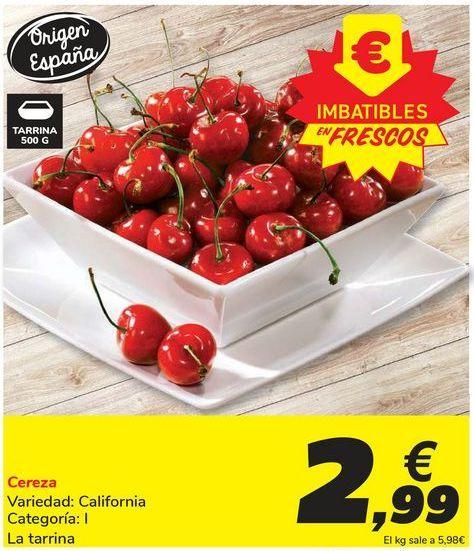 Oferta de Cereza por 2,99€