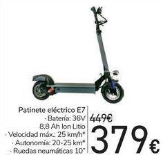 Oferta de Patinete eléctrico E7  por 379€