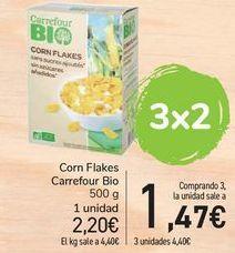 Oferta de Corn Flakes Carrefour Bio por 2,2€