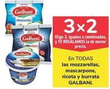 Oferta de En TODAS las mozzarellas, mascarpone, ricota y burrata GALBANI por