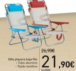 Oferta de Silla playera baja Río  por 21,9€