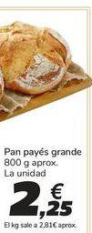Oferta de Pan payés grande por 2,25€