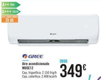 Oferta de Aire acondicionado MUSE 12 GREE  por 349€