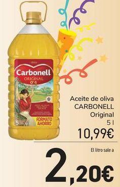 Oferta de Aceite de oliva CARBONELL por 10,99€