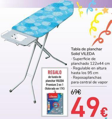 Oferta de Tablan  de planchar Solid VILEDA por 49€