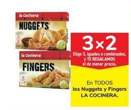 Oferta de En TODOS los Nuggets y Fingers LA COCINERA por