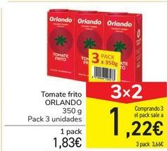 Oferta de Tomate frito Orlando por 1,83€