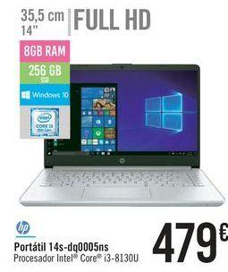 Oferta de Portátil 14s-dq0005ns por 479€