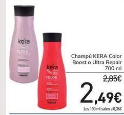 Oferta de Champú KERA Color por 2,49€