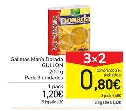 Oferta de Galletas María Dorada GULLÓN por 1,2€