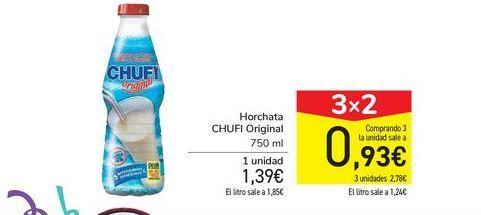 Oferta de Horchata CHUFI Original  por 1,39€