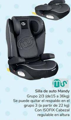 Oferta de Silla de auto Mandy  por