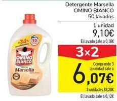Oferta de Detergentes Marsella OMINIO BIANCO  por 9,1€