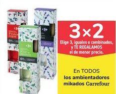 Oferta de En TODOS los ambientadores mikados Carrefour por