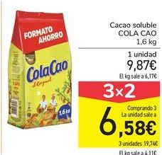 Oferta de Cacao soluble COLACAO por 9,87€