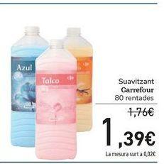 Oferta de Suavizante Carrefour por 1,39€