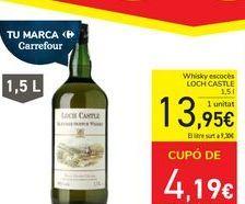 Oferta de Whisky escocés LOCH CASTLE por 13,95€