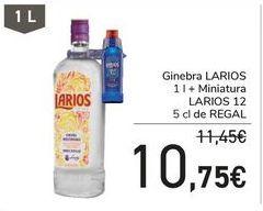 Oferta de Ginebra LARIOS  por 10,75€