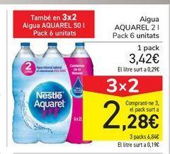 Oferta de Agua AQUAREL por 3,42€