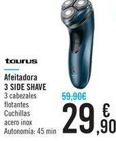 Oferta de Afeitadora 3 side shave Taurus  por 29,9€