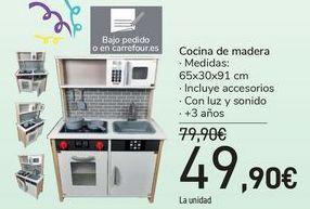 Oferta de Cocina de madera  por 49,9€