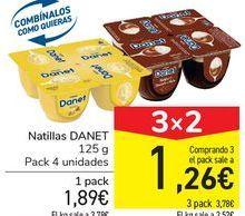 Oferta de Natillas DANET por 1,89€