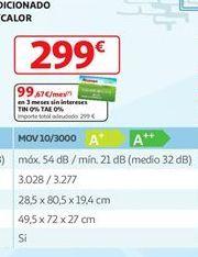 Oferta de Aire acondicionado Movair por 299€