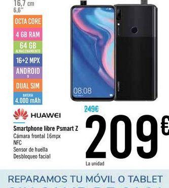 Oferta de Smartphone libre Huawei por 209€
