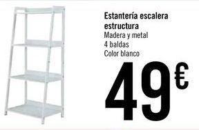 Oferta de Estanterías escalera estructura  por 49€