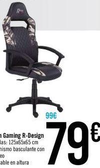 Oferta de Sillon Gaming R-Design por 79€