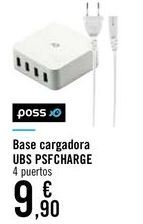 Oferta de Base cargadora UBS PSFCHARGE  por 9,9€