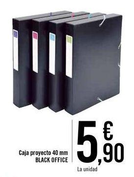 Oferta de Caja proyecto BLACK OFFICE por 5,9€