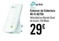 Oferta de Extensor de cobertura Wi-Fi AC750  por 29€