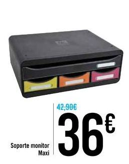 Oferta de Soporte monitor Maxi  por 36€
