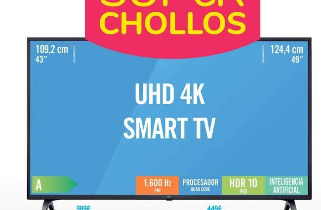 Oferta de TV 43UM7100 por 319€