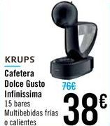 Oferta de Cafetera Dolce Gusto Infinissima por 38€