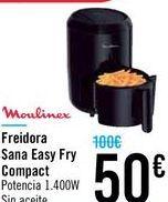 Oferta de Freidora Sana Easy Fry Compact por 50€