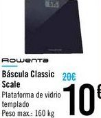 Oferta de Báscula Classic Scale por 10€