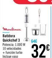 Oferta de Batidora Quickchef 3 por 32€