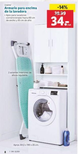 Oferta Armario para encima de la lavadora Livarno Lidl