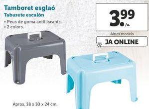 Oferta de Taburete escalón por 3,99€