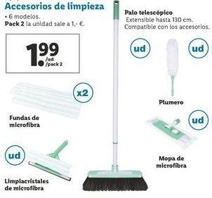 Oferta de Accesorios de limpieza por 1,99€