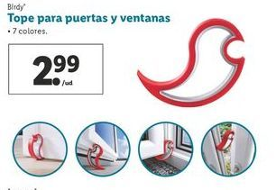 Oferta de Tope para puertas y ventanas Birdy por 2,99€