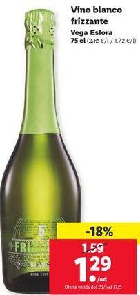 Oferta de Vino blanco Frizzante  por 1,29€